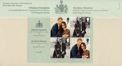 The Royal Wedding (Pack No M24) Presentation pack 19.05.18     (20/05/19)