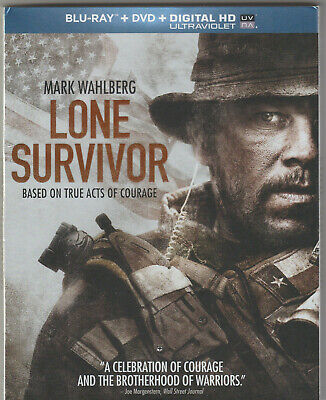 LONE SURVIVOR (Bluray 2014) Bluray, Case and Slipcover Only - No Cover Art