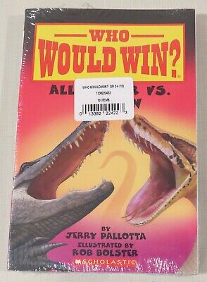 Lot of 10 Who Would Win paperback readers by Scholastic - animal - NEW