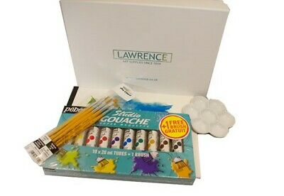 Lawrence Gouache Painting Starter Set in Gift Box - Perfect for Beginners