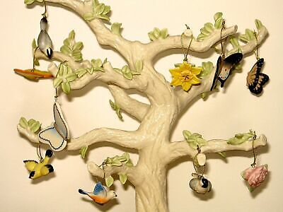 Lenox Spring Miniature Tree Ornaments, Set of 10 (Tree not included)