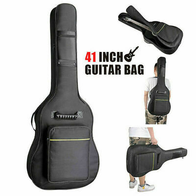 """41"""" Padded Protective Classical Acoustic Guitar Back Bag Carry Case Holder E7I9P"""
