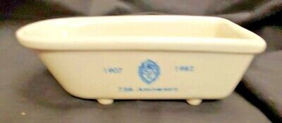 Antique Miniature Tub Bathroom Cady/Soap Holder 1982 The Plaza 75th Anniversary
