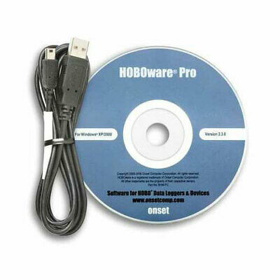 Onset BHW-PRO-CD HOBOware Pro Software and USB Cable Kit for Windows and Mac