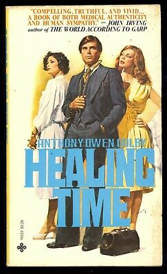 Healing Time Anthony Owen Colby Playboy Press 16523 1980 1st Prt PB Mystery VG-