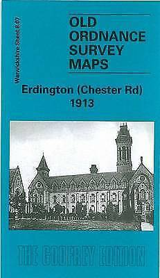 OLD ORDNANCE SURVEY MAP Erdington (Chester Road) 1913