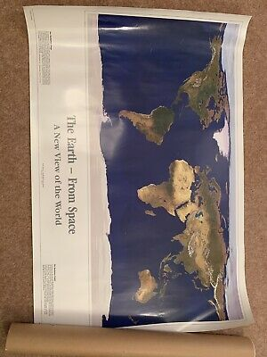 The Earth From Space - A New View Of The World Poster