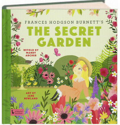 BabyLit Storybook The Secret Garden by Frances Hodgson Burnett hardcover