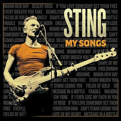 My Songs - Sting (2019, CD NUOVO) 602577587306