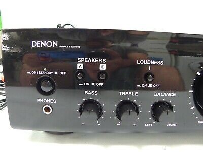 Denon Dn-A100 Amp Amplifier Bluetooth Leads Remote Phono 4Ch V Good Guaranteed