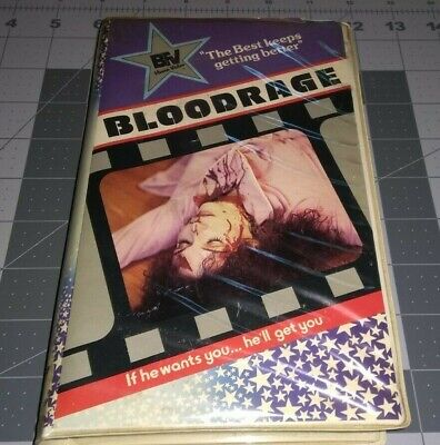 BLOODRAGE~Betamax~Beta~Not VHS~RARE Late 70's Low-budget Horror Camp