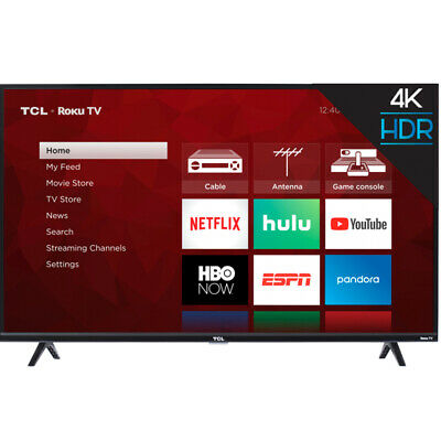 TCL 65S425 65-Inch 4-Series  Dual-Band Wi-Fi Roku 4K Ultra HD Smart TV with HDR