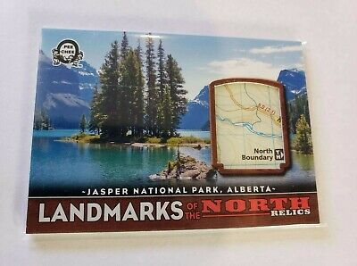 2018-19 Opc Coast To Coast Landmark Relics Of The North Jasper National Park # 3