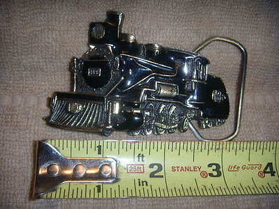 Vintage Era 1981 Train Steam Engine #165 /16  The Great American Belt Buckle Co.