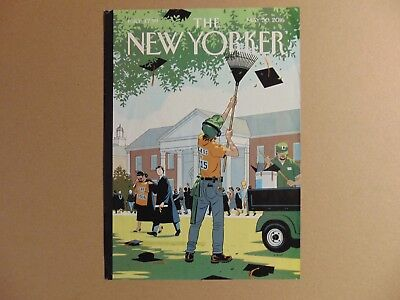 The New Yorker Magazine Framing (Cover only) COMMENCEMENT May 30, 2016