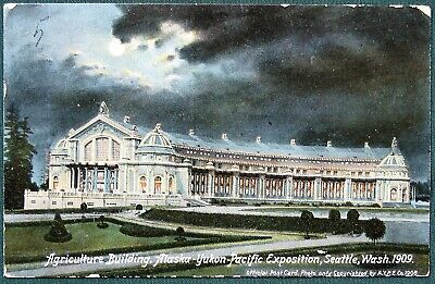 Postcard from the Alaska Pacific Pacific Exposition 1909 Seattle World's Fair