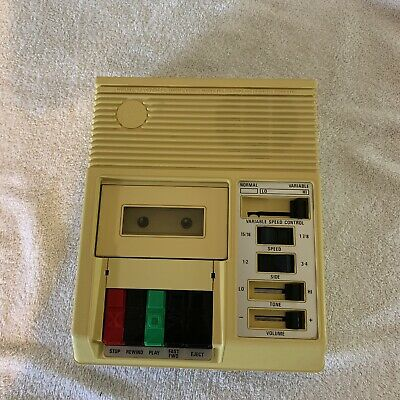 Cassette Tape Player For The Blind National Library Of Congress