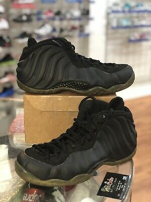 new products 44c8b 380be Nike Air Foamposite One Stealth Black 314996-010 Men Size 9.5