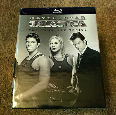 Battlestar Galactica Complete Series Blu Ray Box Set Official US Release