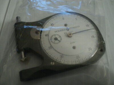 Scherr Tumico Pocket Dial Thickness Gage Caliper 64-1353-02 Made in Japan NEW!