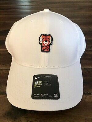 size 40 c0d5b cd32e Frank The Tiger Hat (Nike Performance White Golf Hat - Tiger Woods  Headcover)