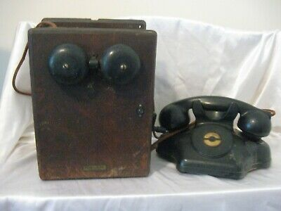 Vintage Kellogg Switchboard & Supply telephone with Western Electric ringer box