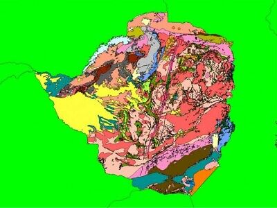 Geology of Zimbabwe in MapInfo format