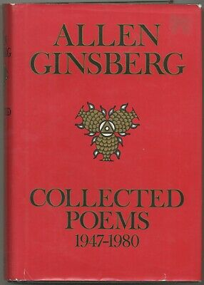 Allen GINSBERG / Collected Poems 1947-1980 Signed 1st Edition 1984