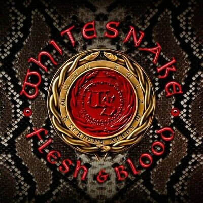 Whitesnake **Flesh & Blood **BRAND NEW DELUXE CD & DVD
