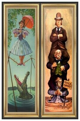 Haunted Mansion Stretching Room Part3  - Collector Poster  (B2G1 Free!!)