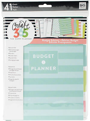 Create 365 Classic Happy Planner Extension Pages-Budget