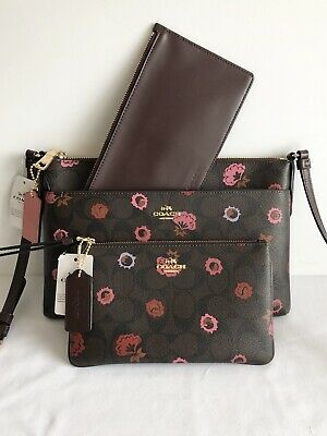 21a262a1b84be NEW AUTHENTIC COACH F29805 East/West Crossbody With Pop-Up Pouch ...