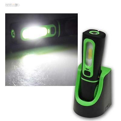 LED bar Light with Liion Battery 250lm, Work Lamp Charging Dock