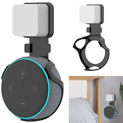 Outlet Wall Mount Hanger Bracket Holder Stand For Amazon Echo Dot 3rd Generation