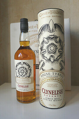 Game of Thrones - Clynelish Reserve Whisky - House of Tyrell