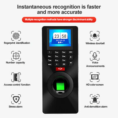 ZK-FP18 Fingerprint Password ID Card Access Control&Time Attendance Entry System
