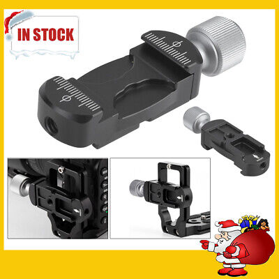 Mini Clamp Extender w/ Cold Shoe for L bracket Quick Release Plate Photography