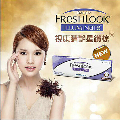 ALCON Freshlook Daily 1 Day Contact Lenses Color Contacts Lens 5 Pairs Set Green