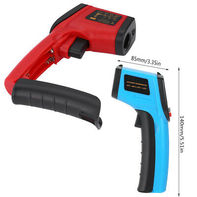 Non-contact Fast IR Infrared Thermometer Industry Temperature Gun-50℃~380℃ NEW