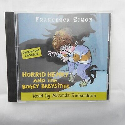 Francesca Simon - Horrid Henry & the Bogey Babysitter audio CD unabridged
