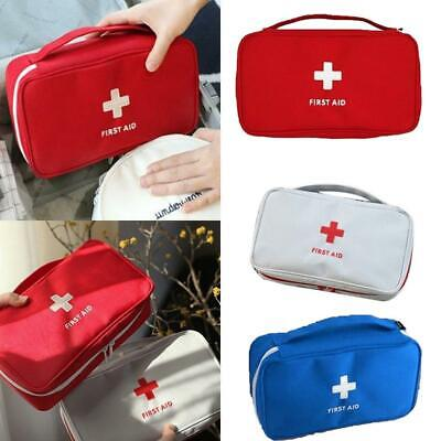 Compact First Aid Bag Emergency Care Case Home Travel OO55 01
