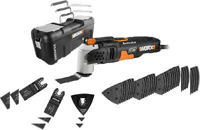 WORX WX680 Sonicrafter F30 Multi Oscillating Tool with 29 Accessories