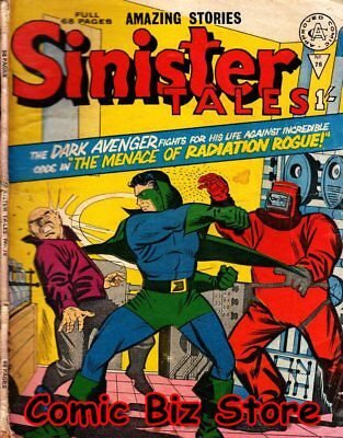 Sinister Tales #78 (1966) 1St Printing Uk Silver Age Alan Class Bagged & Boarded