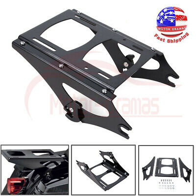 Dependable Detachable Two Up Tour Pak Pack Rack For Harley Road King Street Glide Classic Flh 14-18 Flhr Flht 2014-2018 Motorcycle Carrier Sale Price Carrier Systems Automobiles & Motorcycles