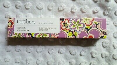 Nib Lucia #6 Fresh Fig & Wild Ginger Room Spray 27Ml/0.91 Fl.oz