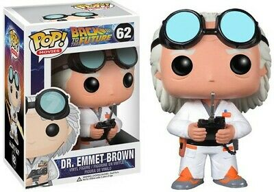 Back To The Future - Dr. Emmet Brown - Funko Pop! Movies (2013, Toy NUEVO)