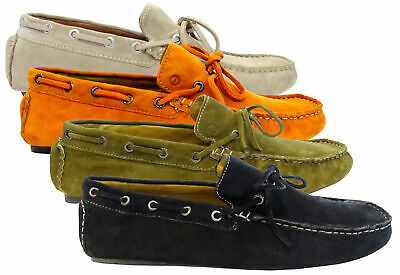 Scarpe Mocassini Sparco MAGNY-KOURS Uomo Men Shoes loafers Pelle leather Made in