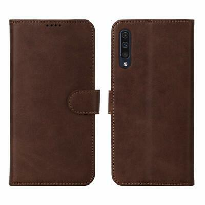 For Galaxy A50 Case Flip Leather Cover Magnetic Wallet ID Card Slots Shockproof