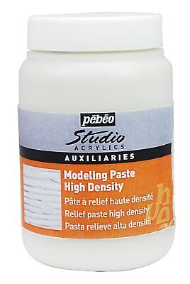 Pebeo Studio Acrylic High Density Modeling Paste Painting Medium 250ml