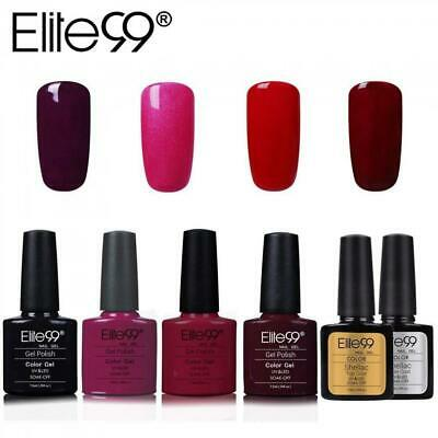 Elite99 Esmalte Semipermanente UV LED 6pcs Kit Uñas de Gel Pintauñas con...